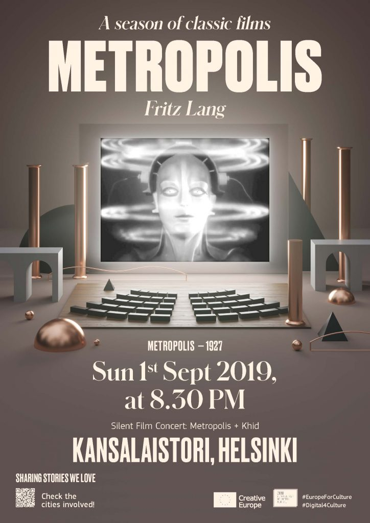 Metropolis screening in Helsinki on 1 Sept 2019